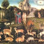 Paradise de Lucas Cranach the Elder