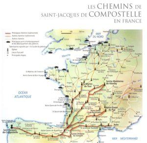 Les chemins de Saint Jacques