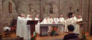 Messe d'envoi du 9 juillet 2015 à St Jean Pied de Port