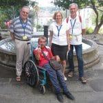 De Lourdes à Saint Jacques de Compostelle en fauteuil roulant