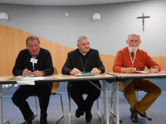 Pierres GARDERES, Monseigneur AILLET et René de LAPORTALIERE